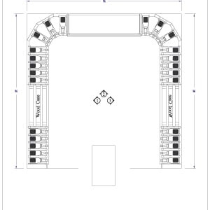 Sample wine cellar designs adjustable height wine racks for Wine cellar floor plans