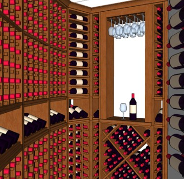 Kansas City MO Custom Wine Cellars  Missouri Cellar Design Examples