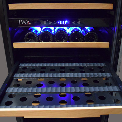 Wine Refrigerator Reviews >> Loft 400 Wine Cooler Dual Zone 46 Bottle NEW #19190 | IWA Wine