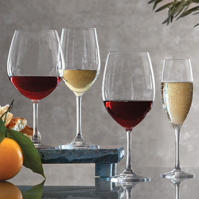 Ultima Classic Burgundy Glasses Set Of 6 3255 Iwa Wine