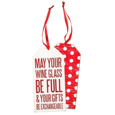 Holiday Wine Bottle Gift Tags Set Of 3 19460 Iwa Wine