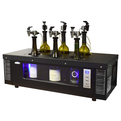 Winekeeper 6 Bottle Wine Tasting Station With Chiller 19461