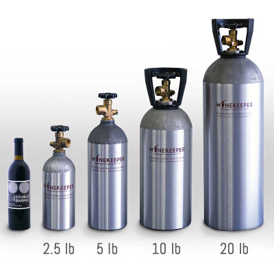 Winekeeper Refillable Gas Cylinder 20 Lb 15172 Iwa Wine
