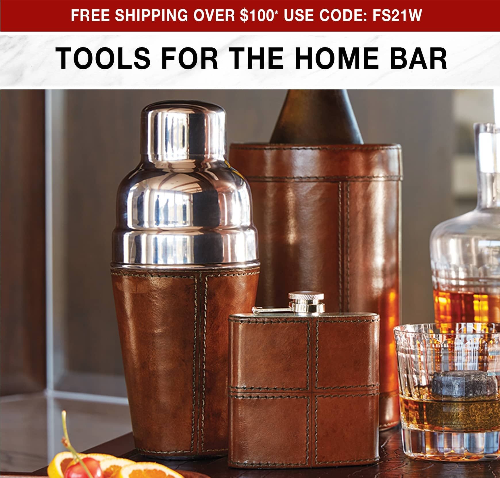 Tools for the Home Bar - Free Shipping Over $100* Use Code FS20W