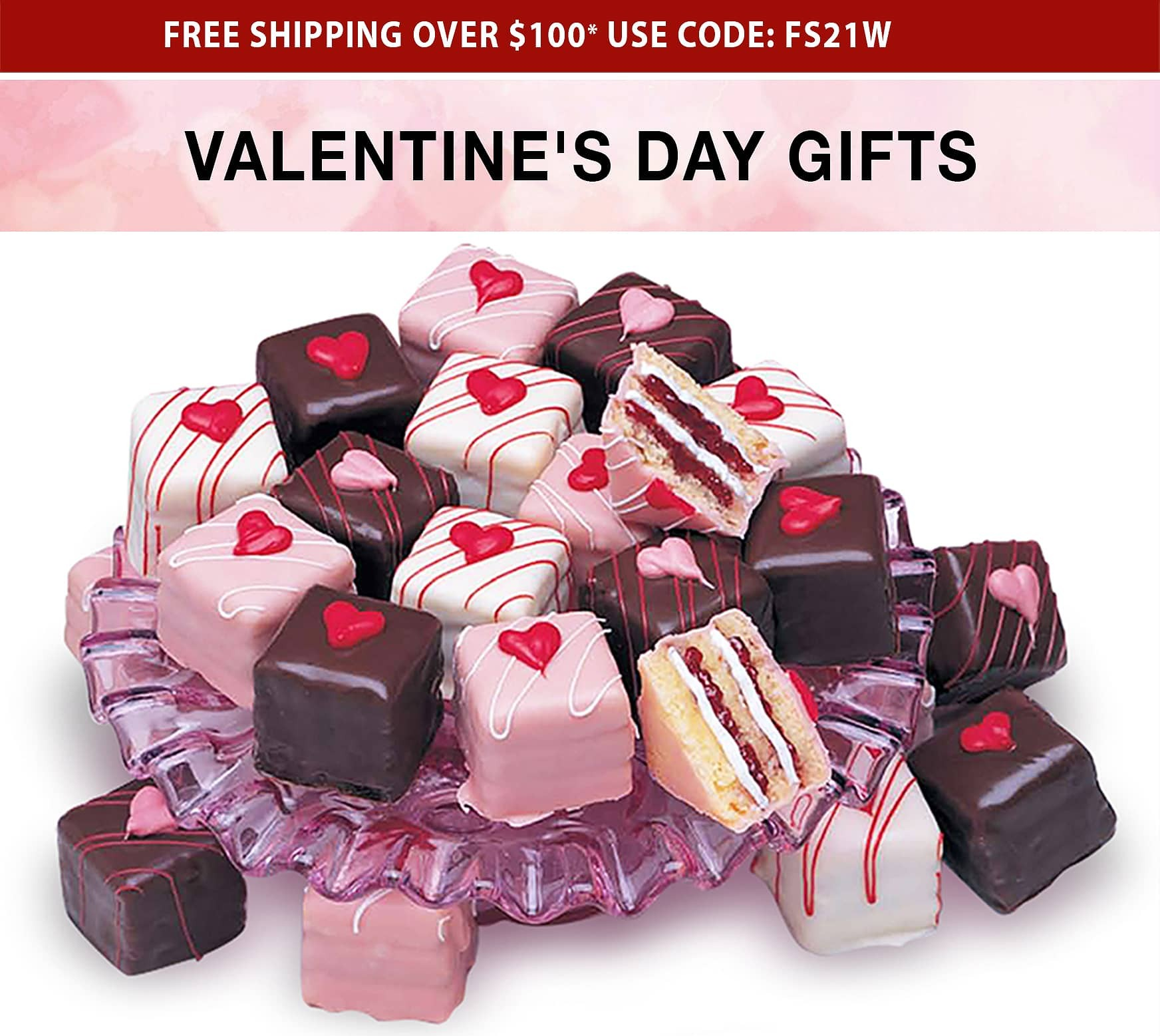 Valentine's Day Gifts - Free Shipping Over $100* Use Code FS21W