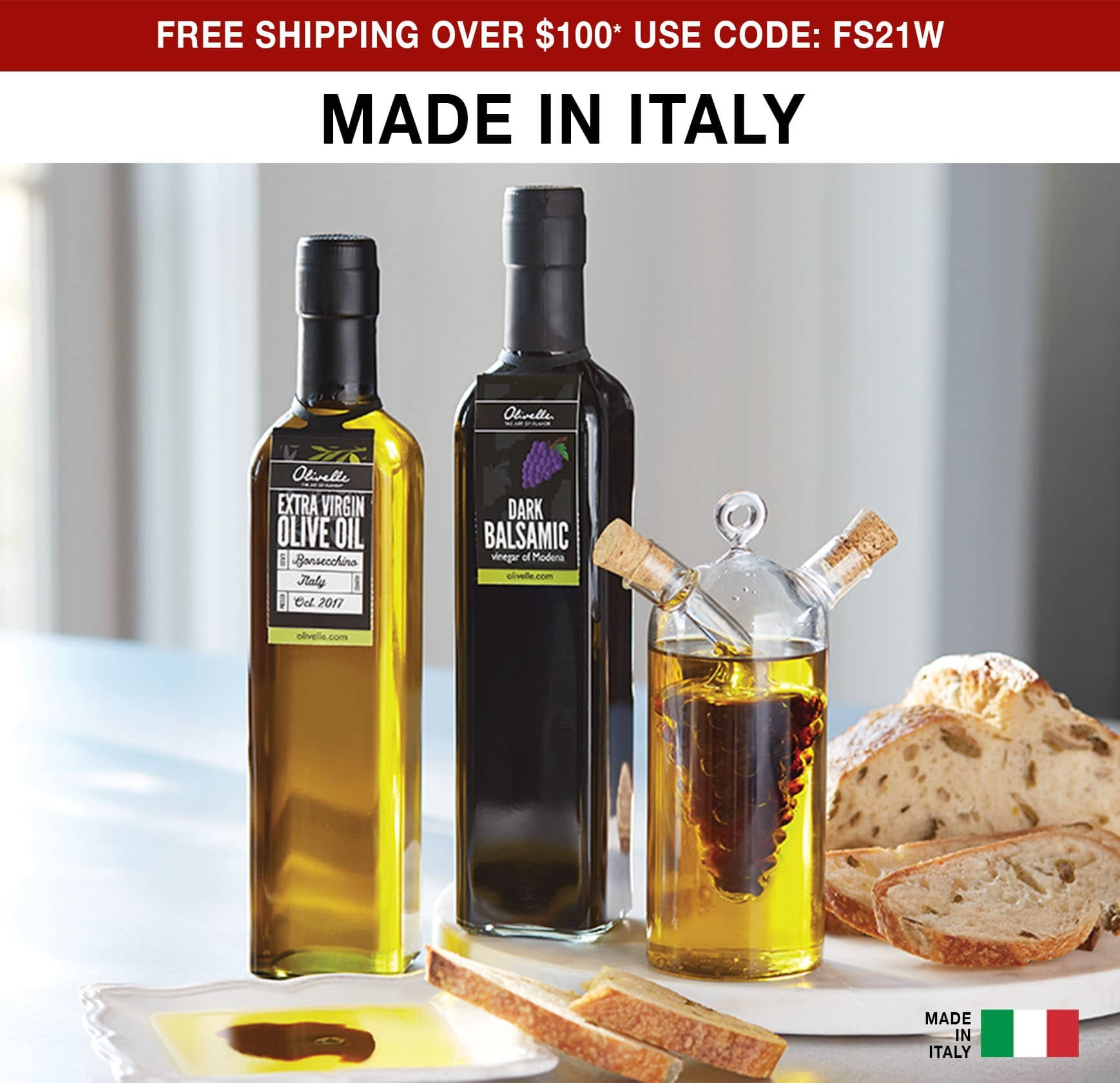 Made in Italy - Free Shipping Over $100 Use Code FS21W.