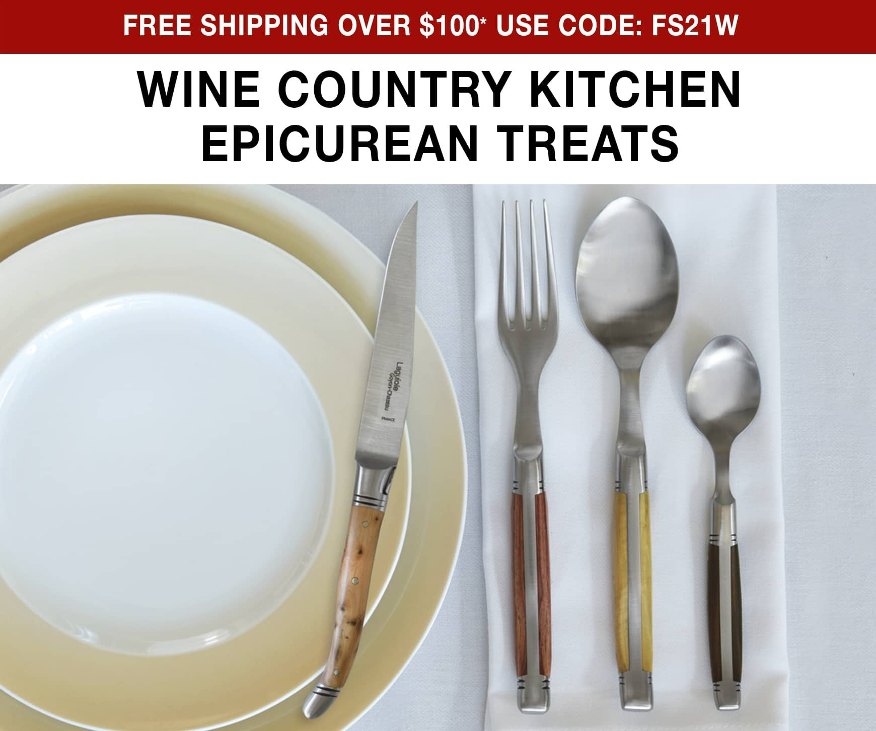 Wine Country Kitchen Epicurean Treats - Free Shipping on orders over $100* Use Code FS21W