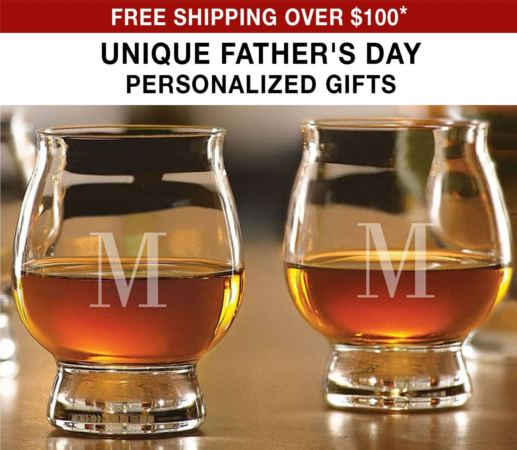 Unique Father's Day Personalized Gifts - Free Shipping Over $100* Use Code FS21W