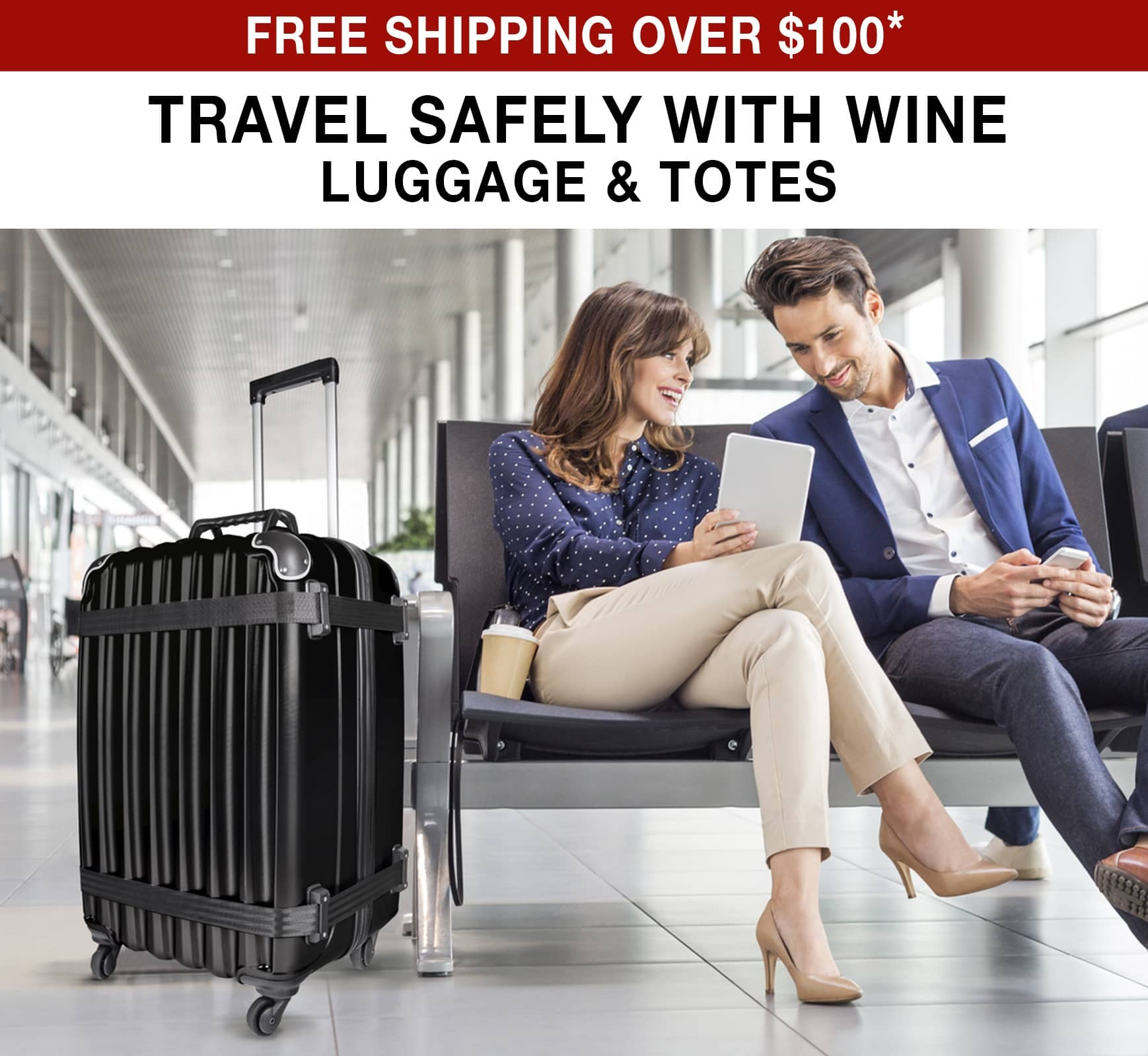 Travel Safely With Wine: Luggage & Totes