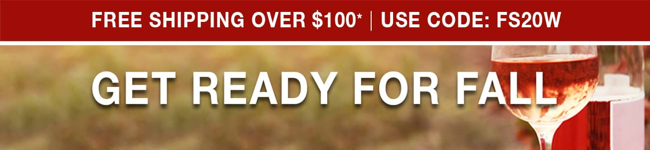 Get Ready for Fall - Free Shipping Over $100* Use Code FS20W