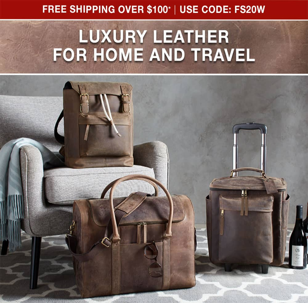 Luxury Leather for Home and Travel