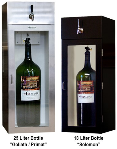 25 Liter Bottle Goliath Primat and 18 Liter Bottle Solomon